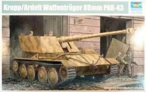 Model niemieckiego niszczyciela czołgów Waffentrager 88mm PAK-43