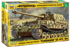 Model niszczyciela czołgów Ferdinand Zvezda 3653