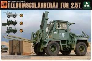 Model wojskowego wózka widłowego Takom 2021