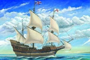Model żaglowca Mayflower w skali 1:60 Trumpeter 01201
