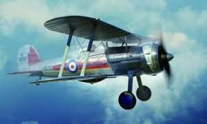 Myśliwiec Gloster Gladiator Mk.I 1:48 Merit 64803