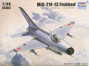 Myśliwiec MiG-21 F-13/J-7 Fighter Trumpeter 02858
