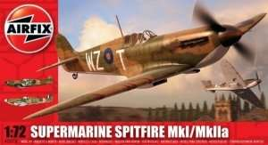 Mysliwiec Supermarine Spitfire Mk.I/Mk.IIa Airfix 02010
