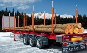 Naczepa do przewozu drewna Italeri 3868 skala 1-24