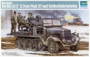 Niemiecki Sd.Kfz 6/2 z działkiem Flak 37 Trumpeter 05532