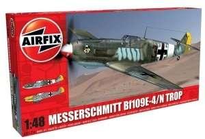 Niemiecki myśliwiec Messerschmitt Bf109E-4/N Tropical Airifix 05122