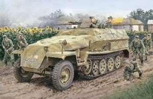 Niemiecki transporter Sd.Kfz. 251 Ausf. C Dragon 6187