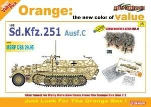 Niemiecki transporter opancerzony Sd.Kfz 251 C22