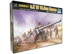 Niemieckie działo s.K18 105mm Trumpeter 02305