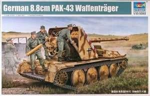 Niemieckie działo samobieżne 88mm Pak44 Waffentrager Trumpeter 05550