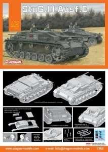 Niemieckie działo pancerne Stug III werjsa E - Dragon 7562
