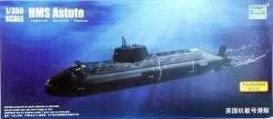 Okręt podwodny HMS Astute 1:350 Trumpeter 04598
