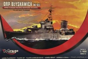 Okręt ORP Błyskawica Wz.65 skala 1-400 nr 400613