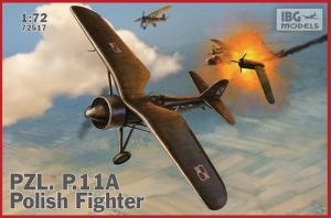 PZL. P.11A polski myśliwiec IBG 72517
