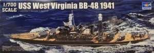 Pancernik West Virginia BB-48 1:700 Trumpeter 05771