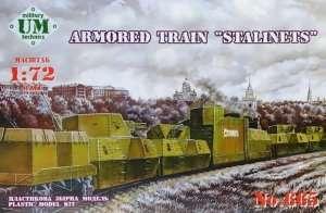 Pancerny pociąg Stalinets - UMMT 665