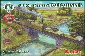 Pancerny pociąg Dzerzhinets - UMMT 637