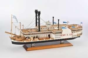 Parowiec Robert E.Lee - Amati 1439 - drewniany model w skali 1:150