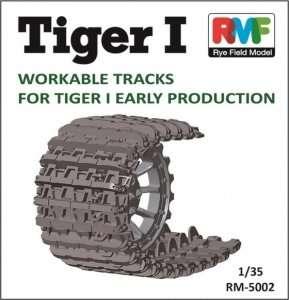 Plastikowe gąsienice do czołgu Tiger I RFM 5002