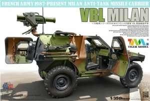 Pojazd Panhard VBL z wyrzutnią Milan Tiger Model 4618