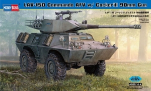 Pojazd opancerzony LAV-150 Commando AFV w/ Cockerill 90mm Gun Hobby Boss 82422