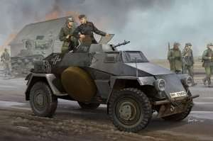 Pojazd opancerzony Sd.Kfz. 221 Panzerspahwagen Hobby Boss 83812