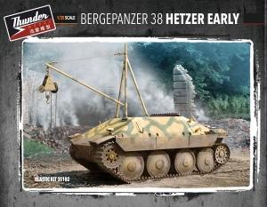 Pojazd techniczny Bergehetzer wczesny model Thunder Models 35102