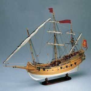 Polacca Veneziana - Amati 1407 - drewniany model w skali 1:150