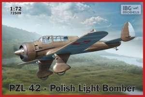 Polski samolot PZL 42  lekki bombowiec IBG 72509
