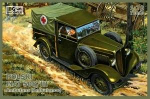 Polski Fiat 508/III ambulans IBG 72010