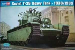Radziecki czołg ciężki T-35 1938/1939 Hobby Boss 83843
