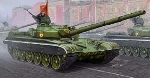 Radziecki czołg t-72B do sklejania