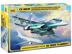 Radziecki myśliwiec Sukhoi SU-30 SM Zvezda 7314