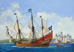 Revell 05719 Szwedzki galeon Vasa - zestaw z farbami, klejem