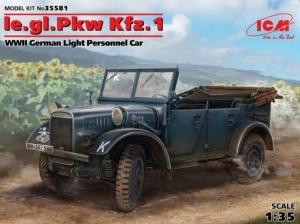 Samochód terenowy le.gl.Pkw Kfz.1 ICM 35581