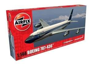 Samolot pasażerski Boeing 707-436 skala 1:144 Airfix 05171