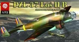 Samolot PZL-37 Łoś II/B Aeronautica Romana