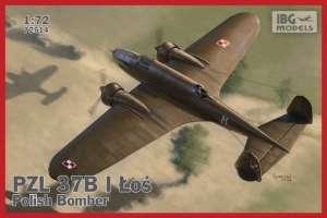 Samolot PZL 37B I Łoś - polski średni bombowiec 72514