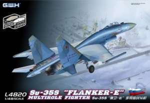 Samolot Su-35S Flanker E - Model Great Wall Hobby L4820