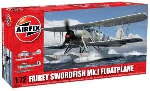 Samolot torpedowy Fairey Swordfish Mk.1 Floatplane Airfix 05006