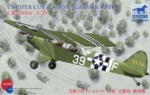 Samolot zwiadowczy US Piper Cub L-4(0-59) Grasshopper Bronco 35014