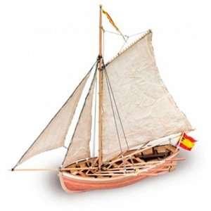 San Juan Nepomuceno - szalupa - Artesania 18010 - drewniany statek skala 1-25