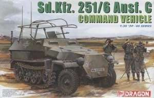 Sd.Kfz. 251/6 Ausf. C Command Vehicle - Dragon 6206