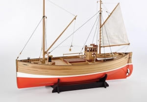 Statek rybacki Fifie - Amati 1300/09 - drewniany model w skali 1:32