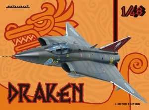 Swedish Fighter Draken - Eduard 1135