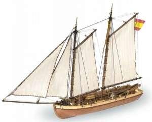 Szalupa Principe de Asturias - Artesania 22150 - drewniany statek skala 1-50