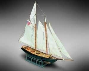 Szkuner America - Mamoli MM04 - drewniany model w skali 1-140