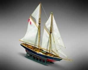 Szkuner Bluenose - Mamoli MM11 - drewniany model w skali 1-160