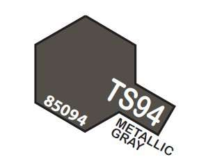 TS-94 Metallic Gray spray 100ml Tamiya 85094