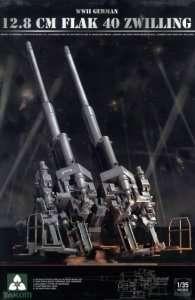Takom 2023 12.8 cm FlaK 40 Zwilling